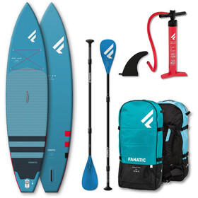 """Fanatic Ray Air Premium/Pure SUP Package 12'6"""" Inflatable SUP with Paddle and Pump"""